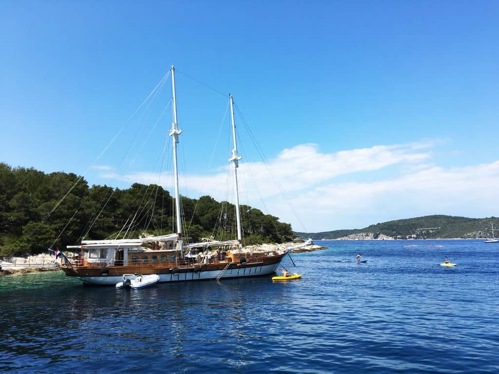 sailing trips in croatia