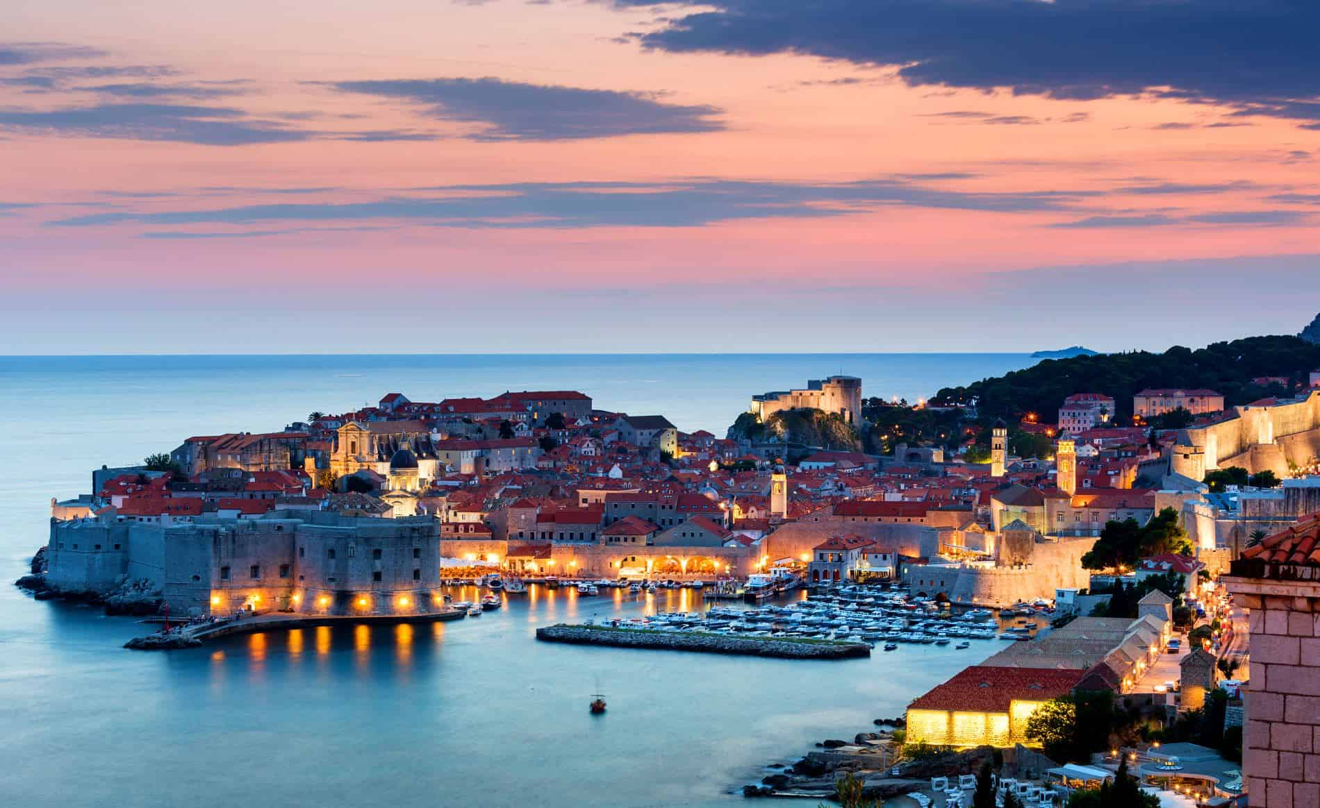 Yacht harbour, Dubrovnik